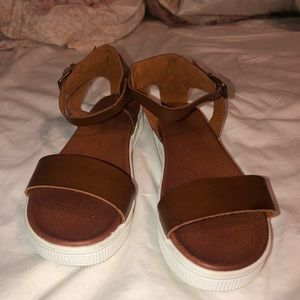 Brown MIA Sandals